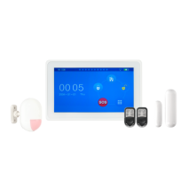 Kit alarma wireless cu GSM si Touchscreen Kerui KR-K7