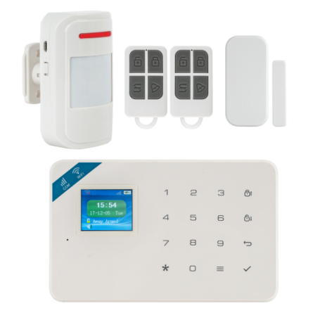 Kit alarma wireless cu GSM si WI-FI Kerui KR-W18